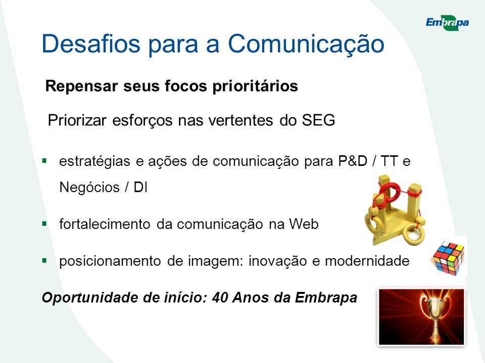 Desafios para a Comunicação