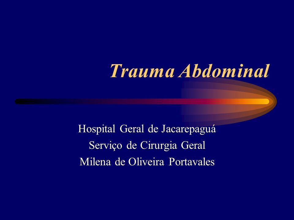 Trauma Abdominal Hospital Geral de Jacarepaguá