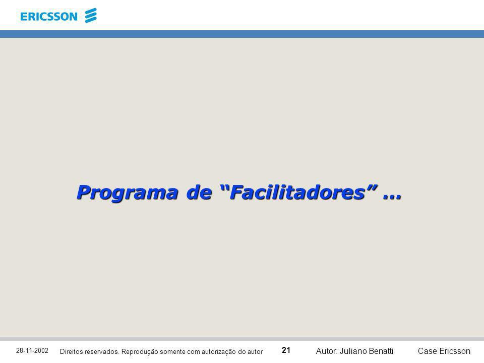 Programa de Facilitadores …