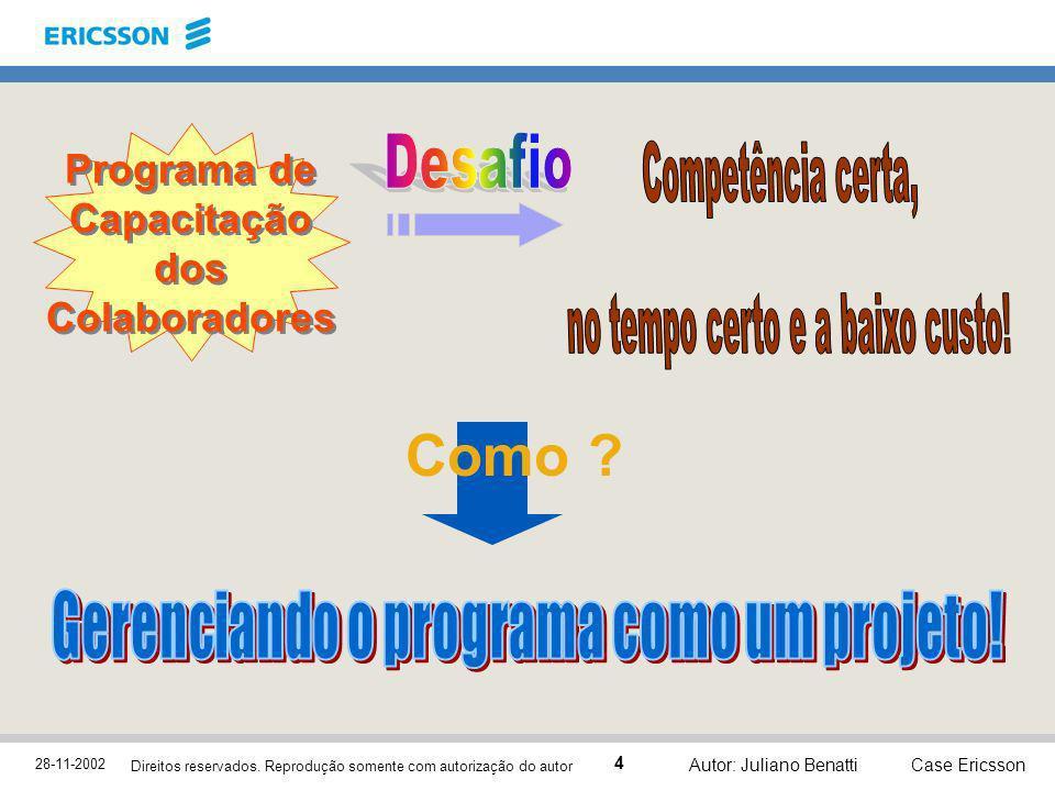 Programa de Capacitação dos Colaboradores