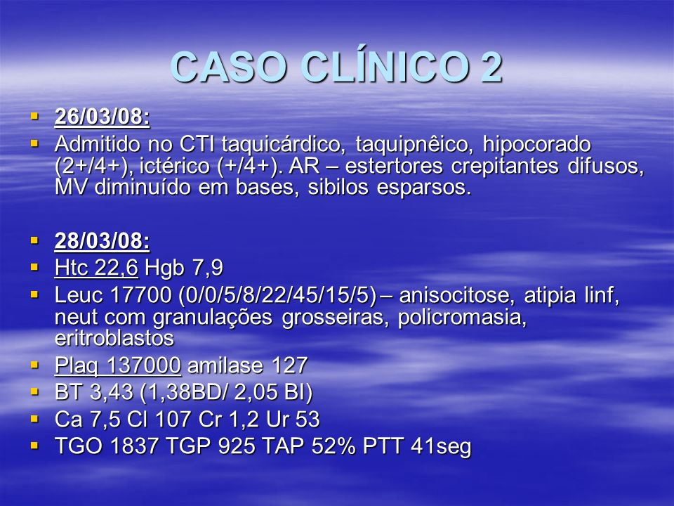 CASO CLÍNICO 226/03/08: