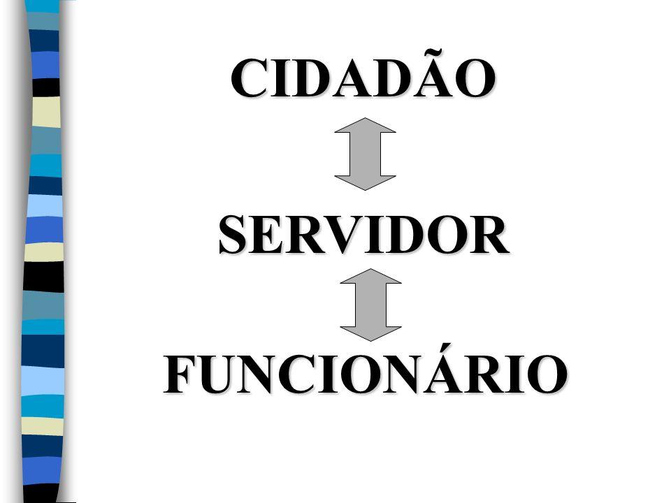 CIDADÃO SERVIDOR FUNCIONÁRIO
