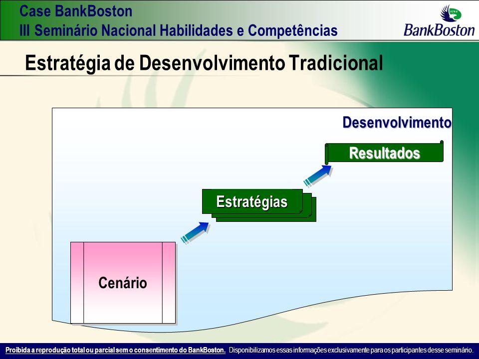 Estratégia de Desenvolvimento Tradicional