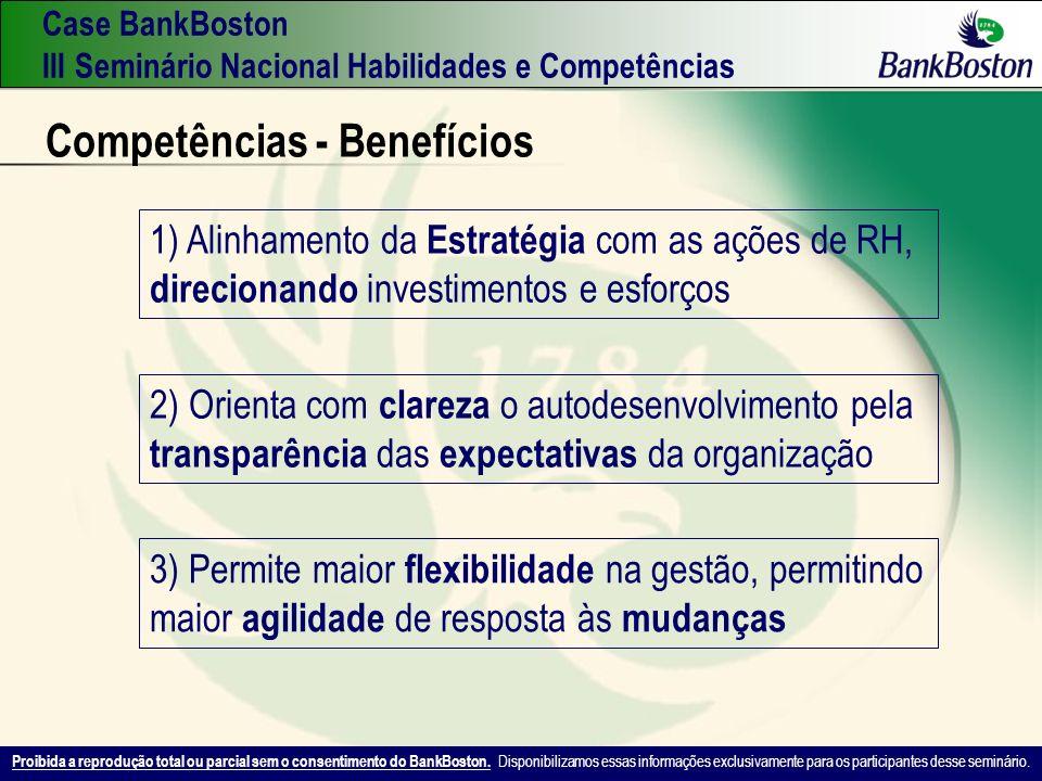Competências - Benefícios