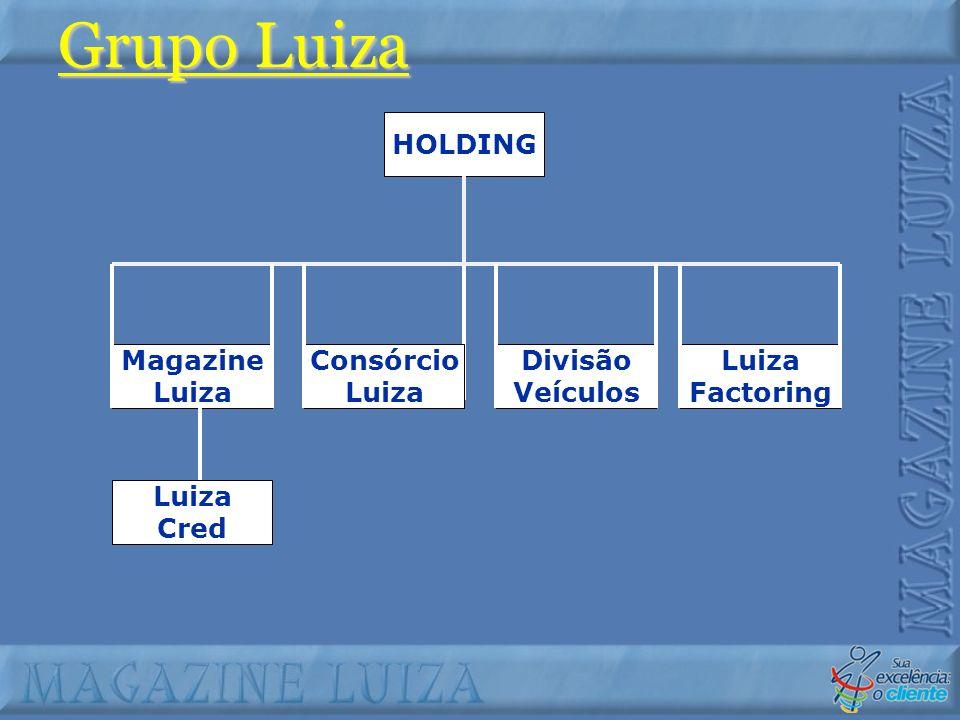 Grupo Luiza Magazine Luiza Consórcio Divisão Veículos Factoring Cred