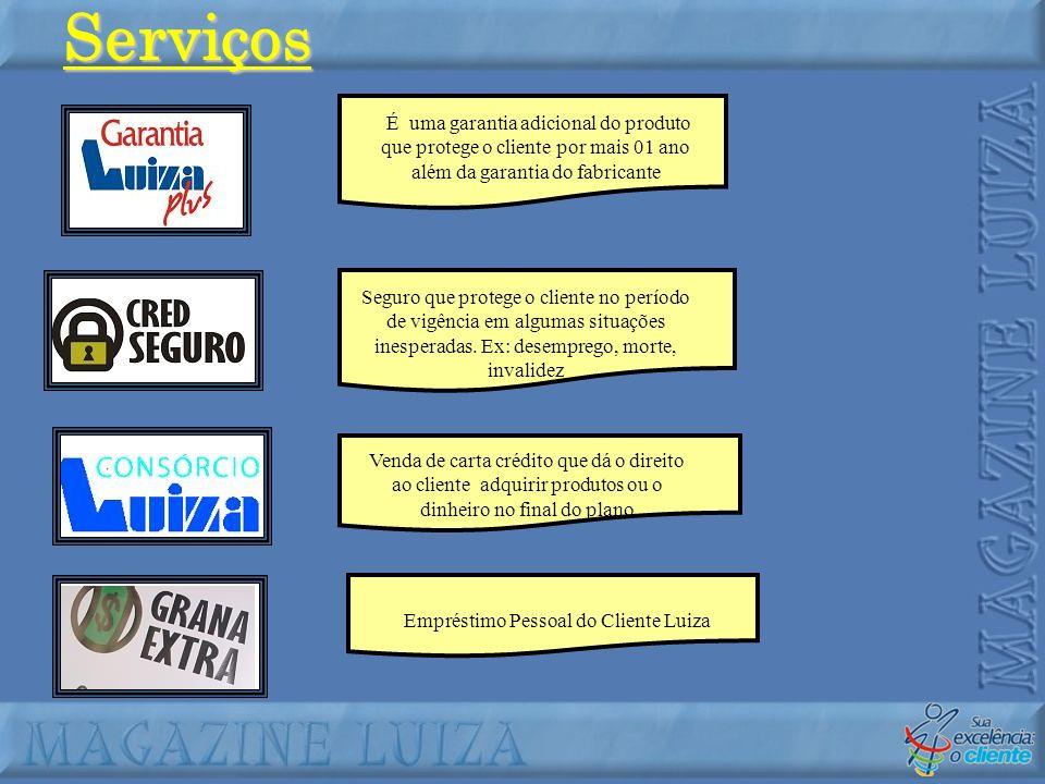 Empréstimo Pessoal do Cliente Luiza