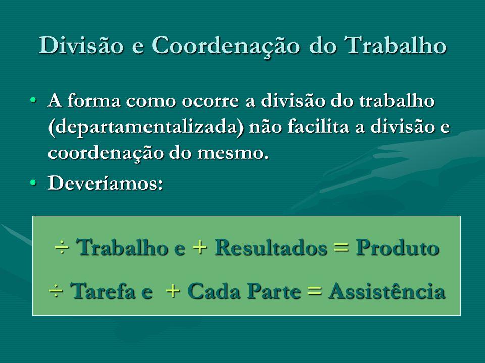 Divisão e Coordenação do Trabalho