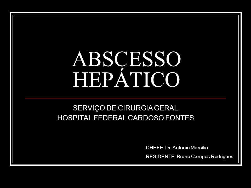 SERVIÇO DE CIRURGIA GERAL HOSPITAL FEDERAL CARDOSO FONTES