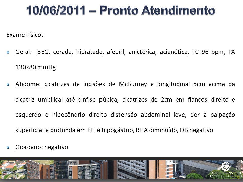 10/06/2011 – Pronto Atendimento