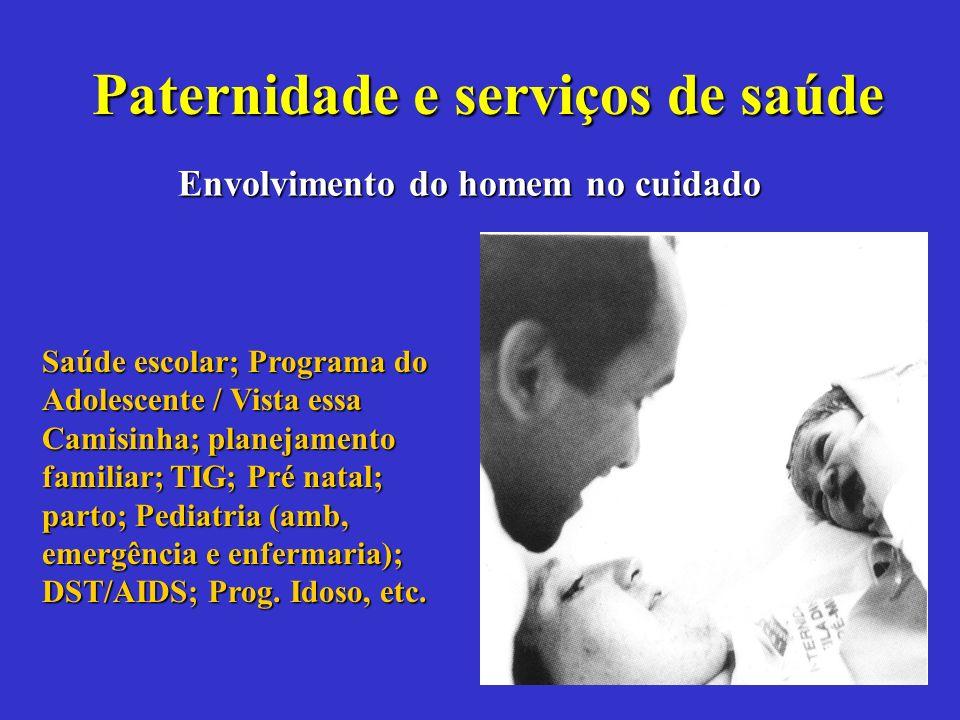 Paternidade e serviços de saúde