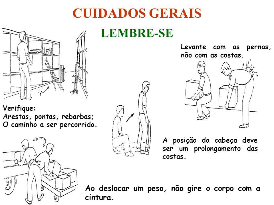 CUIDADOS GERAIS LEMBRE-SE