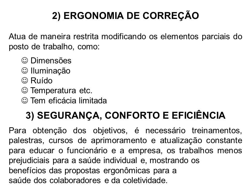 3) SEGURANÇA, CONFORTO E EFICIÊNCIA