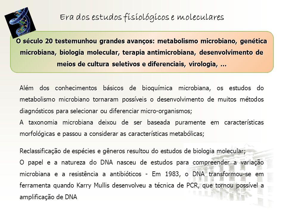 Era dos estudos fisiológicos e moleculares