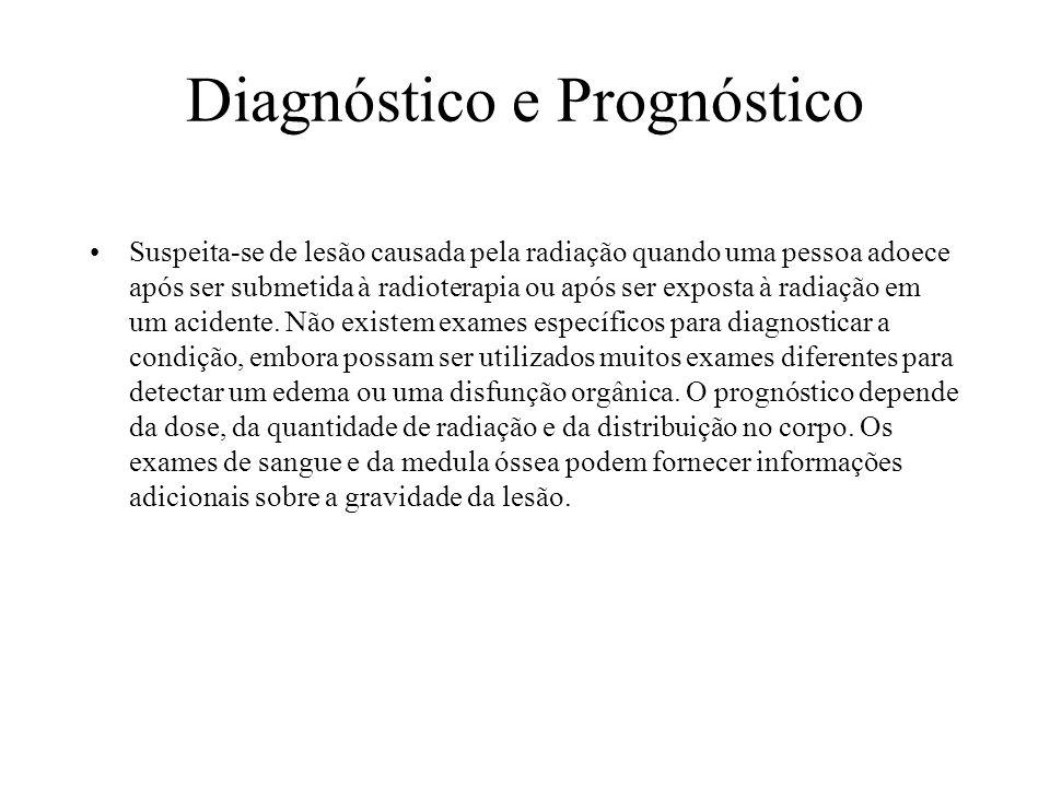 Diagnóstico e Prognóstico