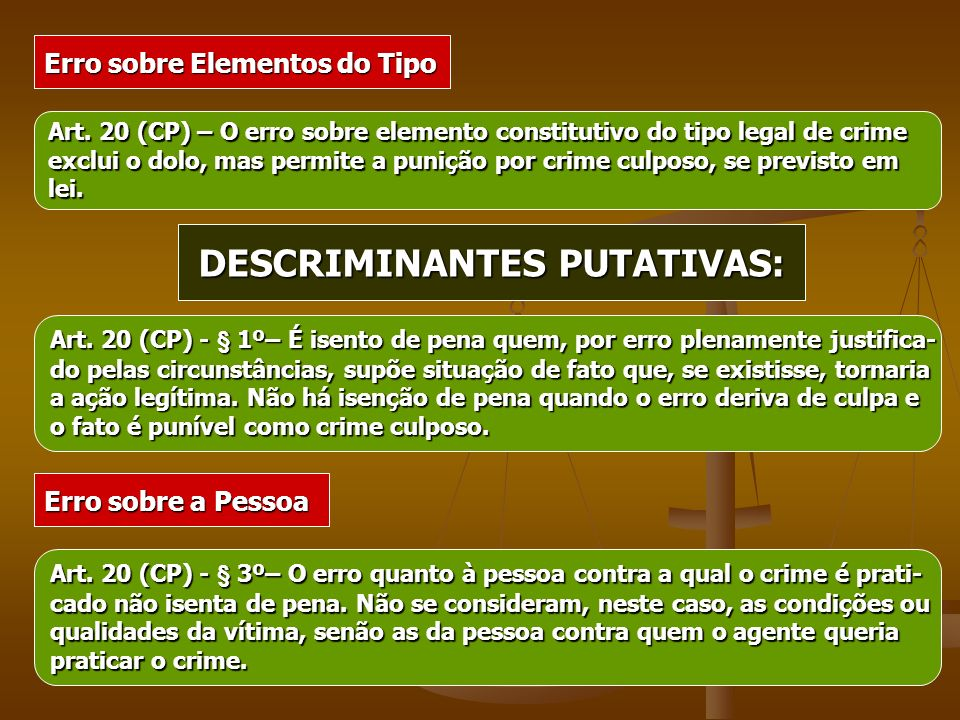 DESCRIMINANTES PUTATIVAS: