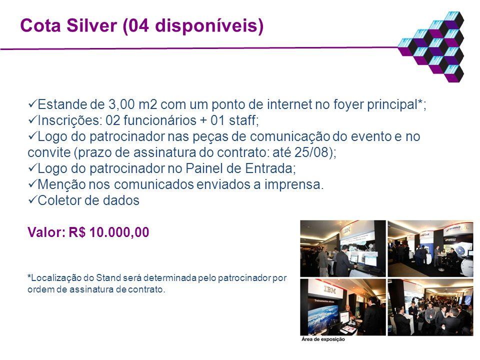 Cota Silver (04 disponíveis)