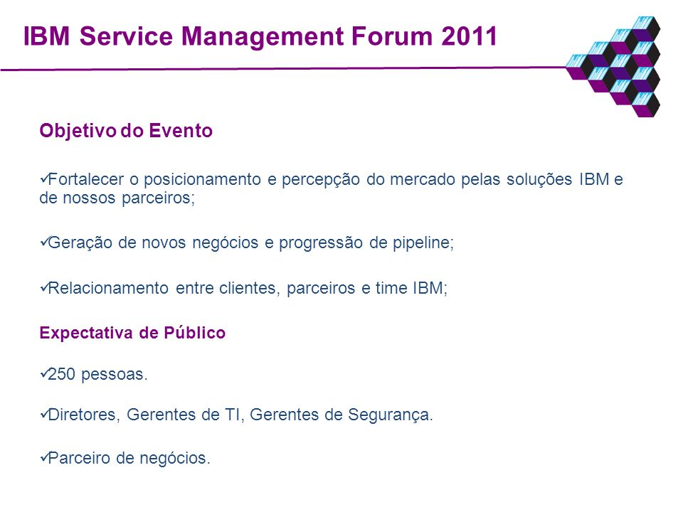 IBM Service Management Forum 2011