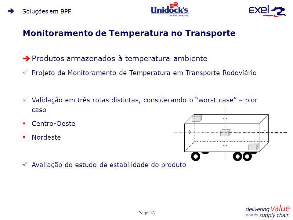 Monitoramento de Temperatura no Transporte