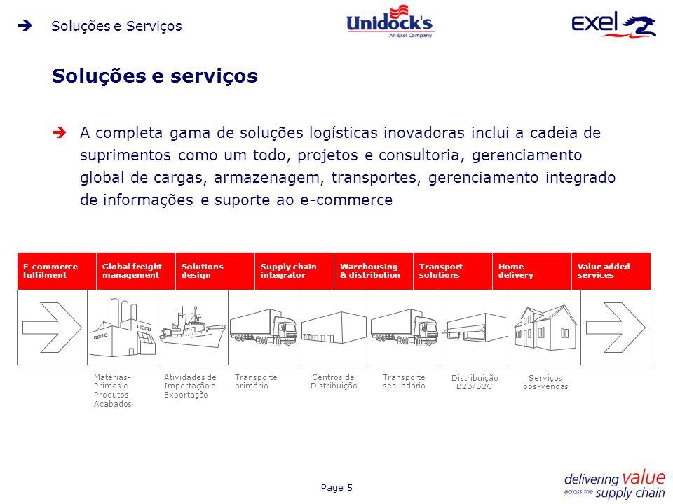 Soluções e Serviços Soluções e serviços.