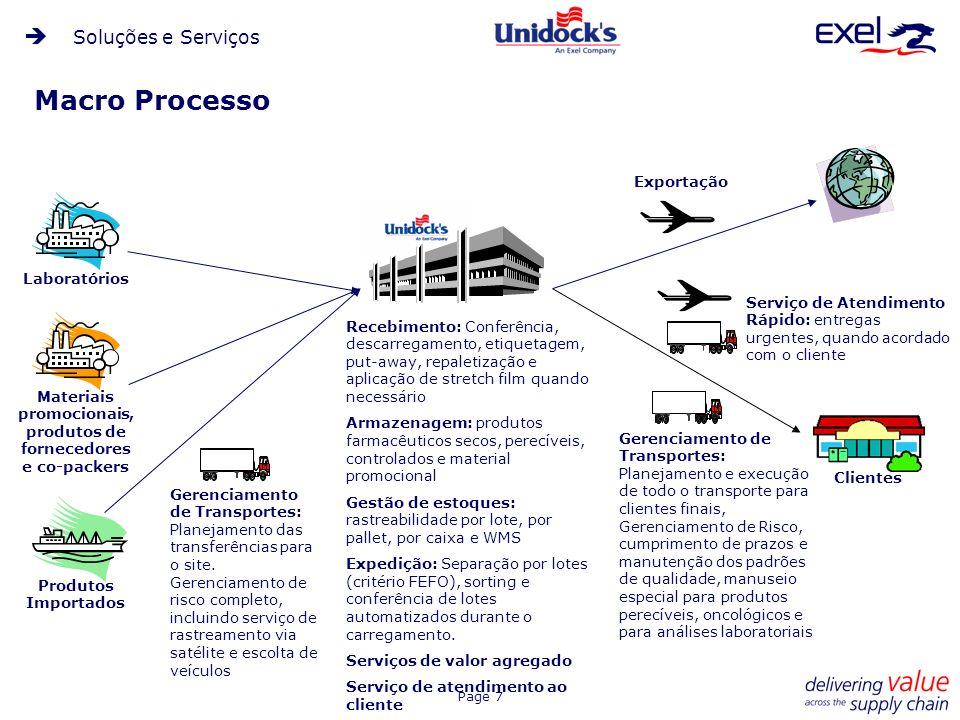 Materiais promocionais, produtos de fornecedores e co-packers