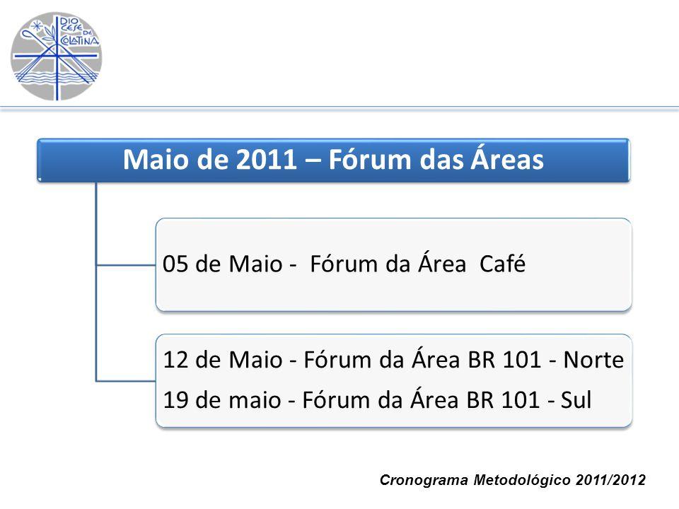 Maio de 2011 – Fórum das Áreas