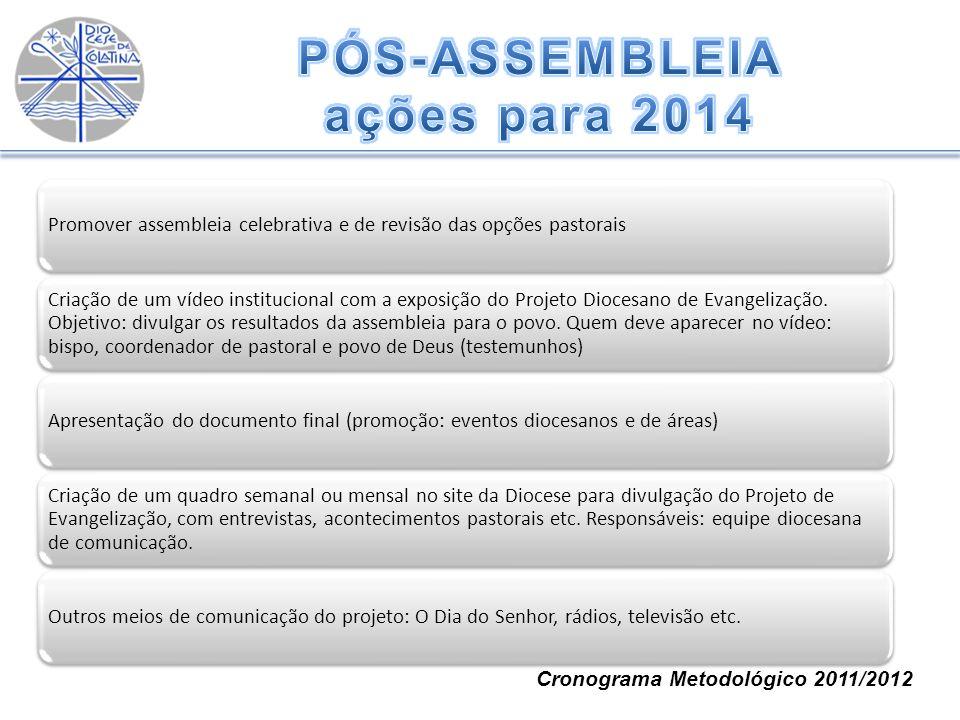 PÓS-ASSEMBLEIA ações para 2014