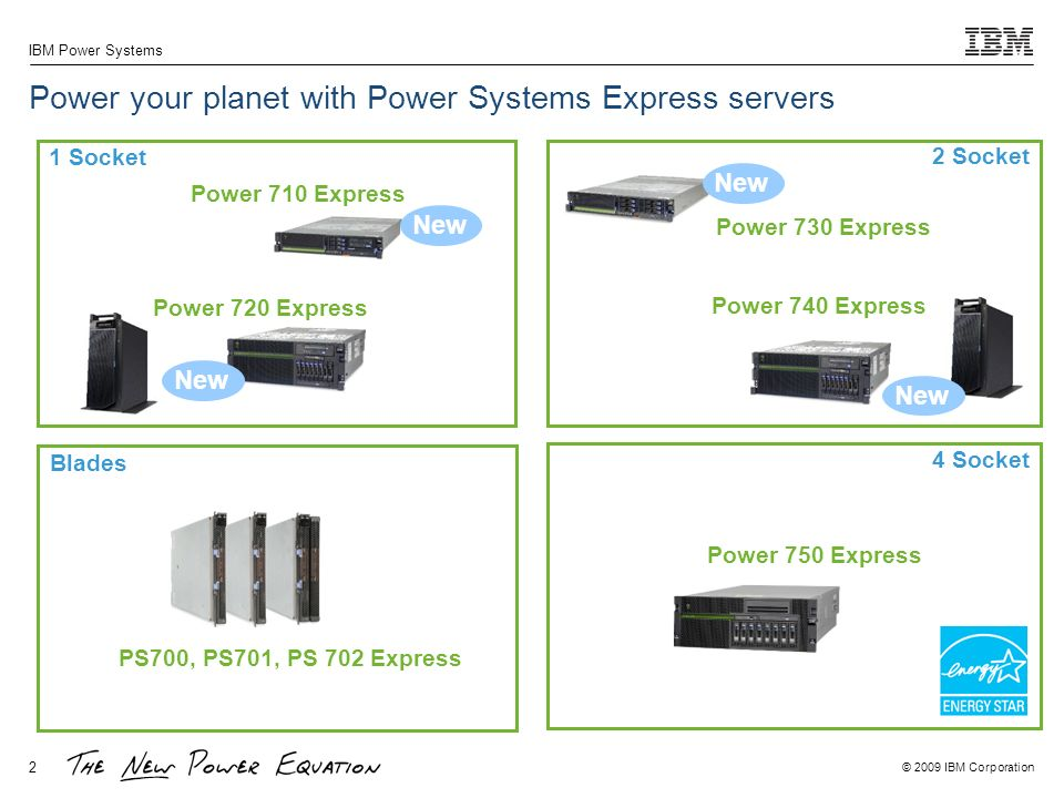 Power your planet with Power Systems Express servers