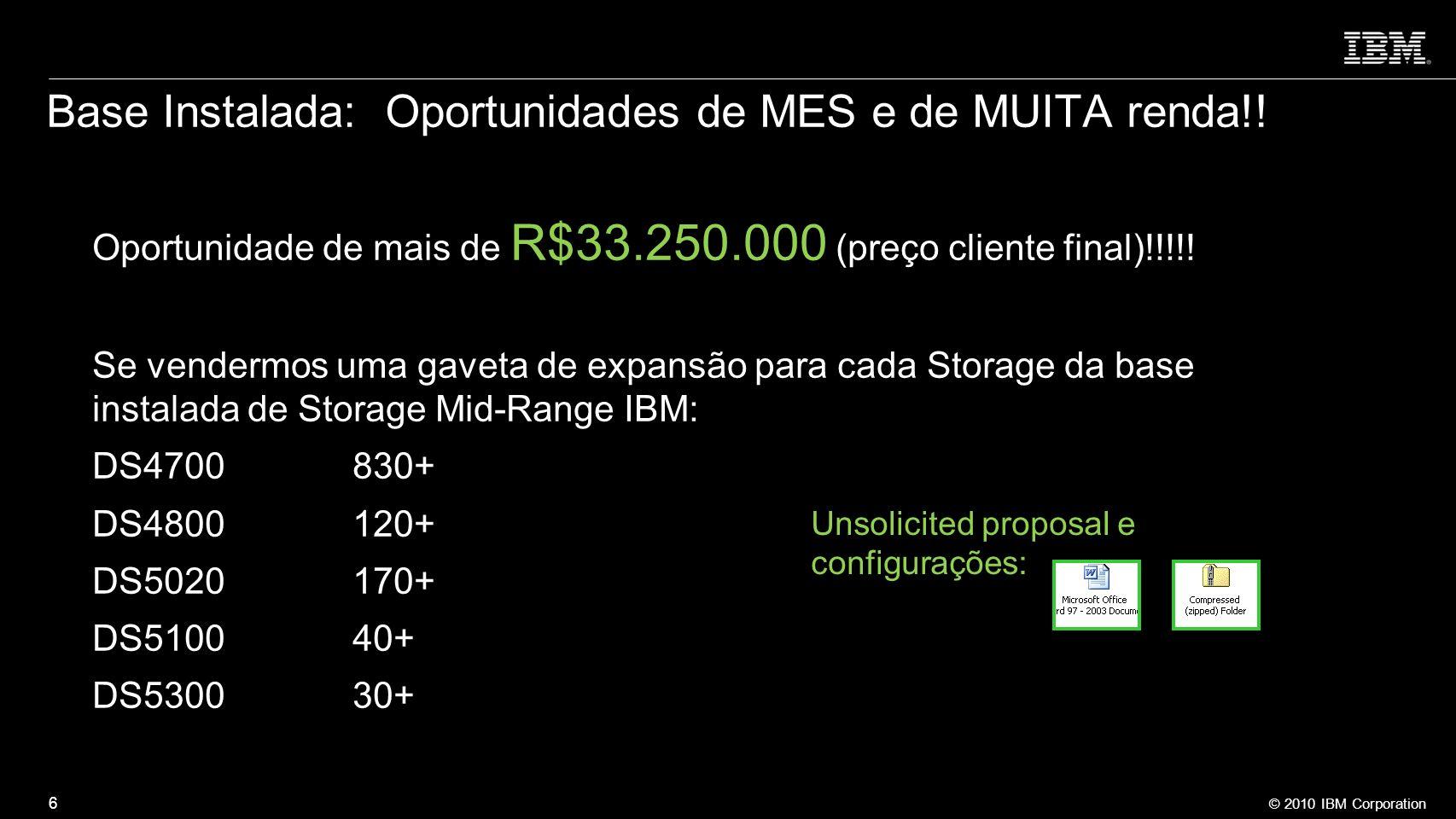 Base Instalada: Oportunidades de MES e de MUITA renda!!