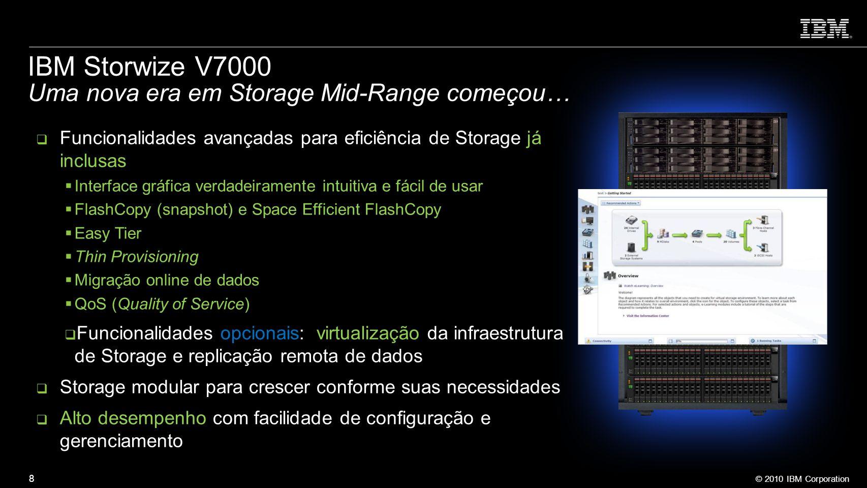 IBM Storwize V7000 Uma nova era em Storage Mid-Range começou…