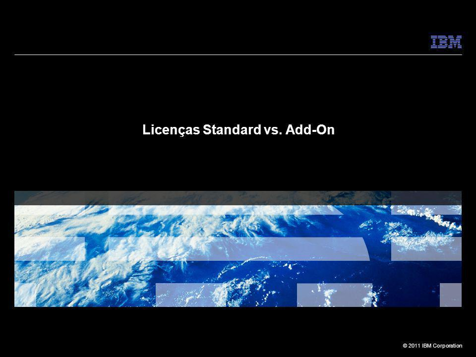 Licenças Standard vs. Add-On