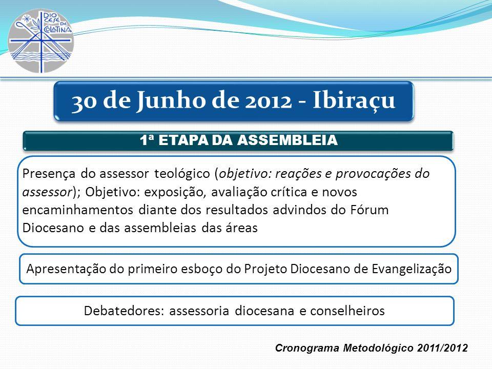Debatedores: assessoria diocesana e conselheiros