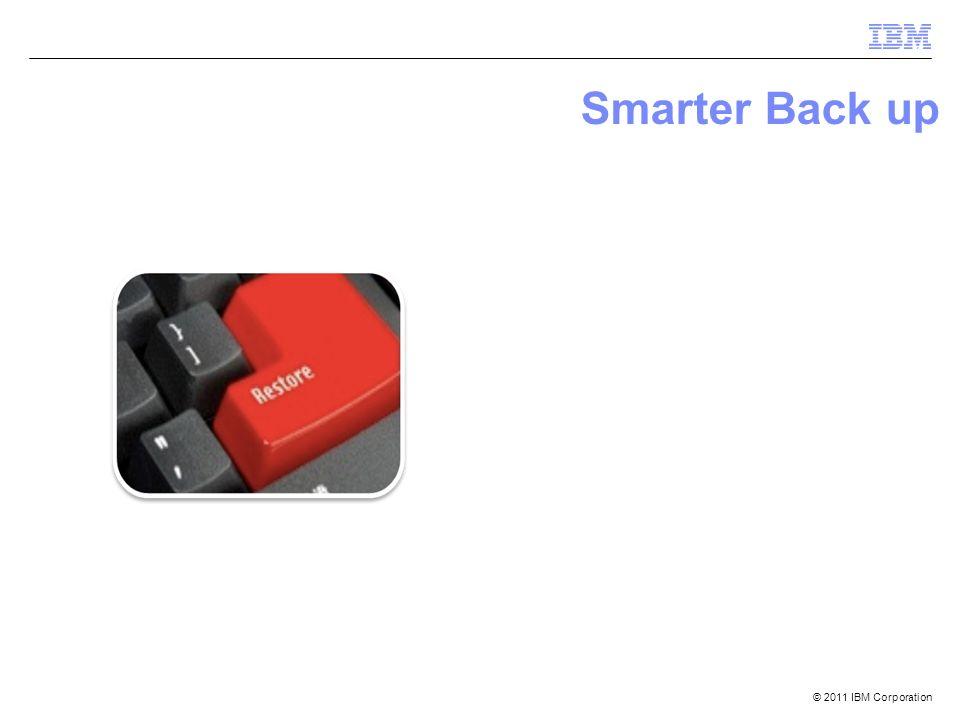 Smarter Back up
