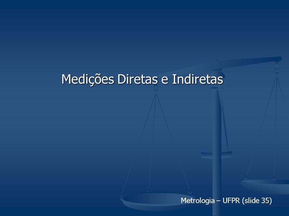 Medições Diretas e Indiretas