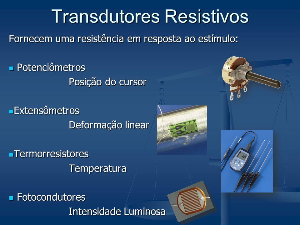 Transdutores Resistivos