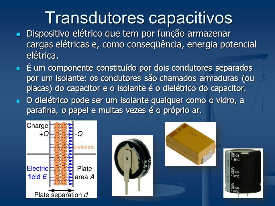 Transdutores capacitivos