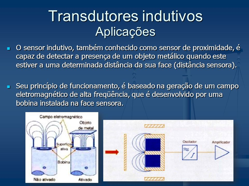 Transdutores indutivos