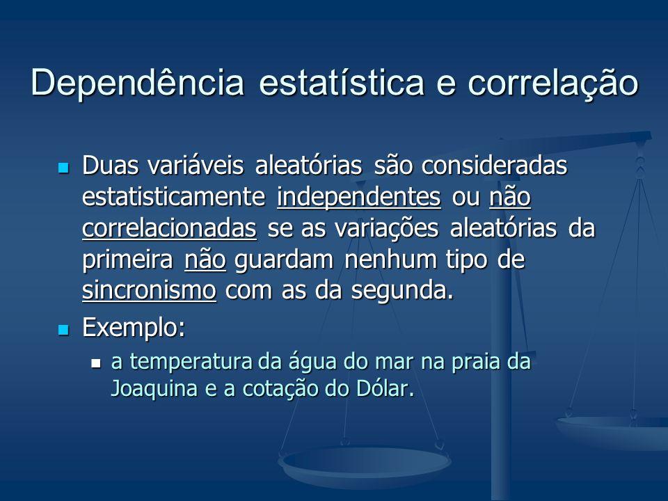 Dependência estatística e correlação