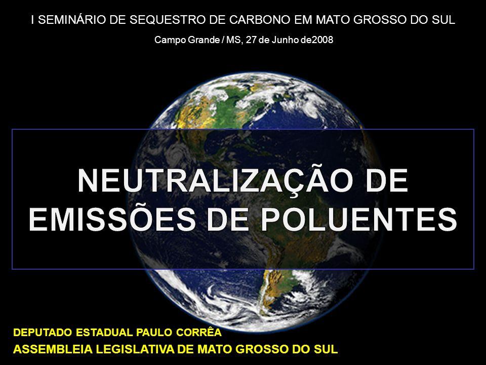 NEUTRALIZAÇÃO DE EMISSÕES DE POLUENTES