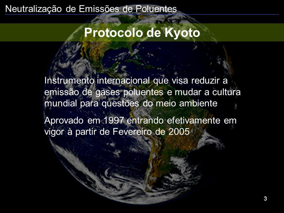 Protocolo de Kyoto Instrumento internacional que visa reduzir a emissão de gases poluentes e mudar a cultura mundial para questões do meio ambiente.