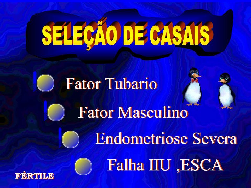 Fator Tubario Fator Masculino Endometriose Severa Falha IIU ,ESCA