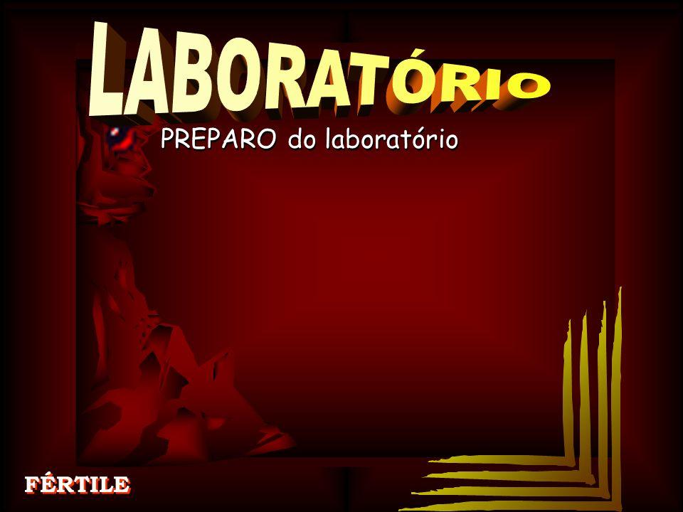 LABORATÓRIO PREPARO do laboratório FÉRTILE PREPARO do laboratório