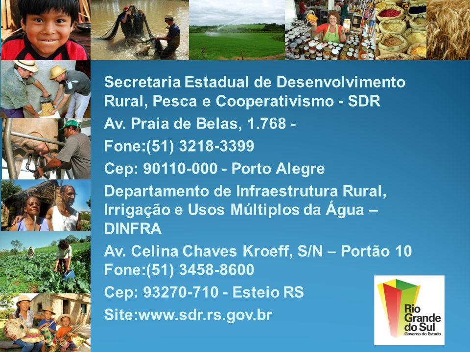Secretaria Estadual de Desenvolvimento Rural, Pesca e Cooperativismo - SDR