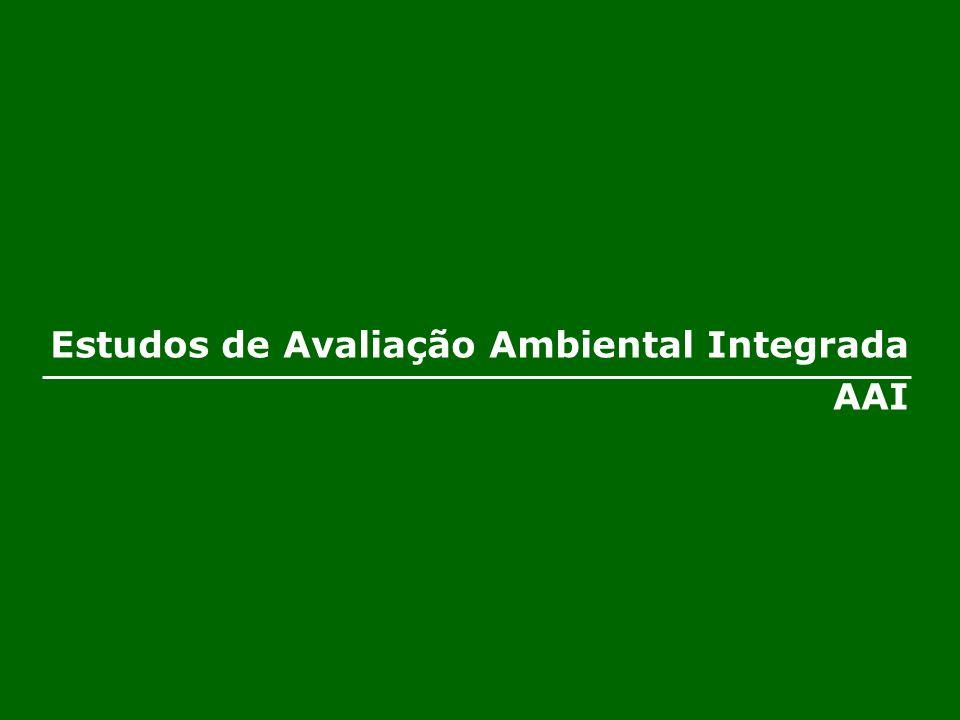 Estudos de Avaliação Ambiental Integrada