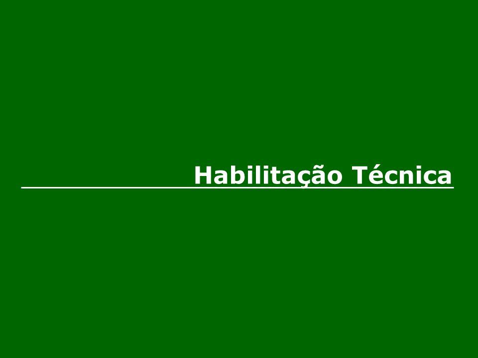 Habilitação Técnica