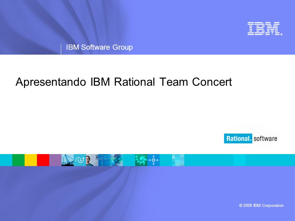 Apresentando IBM Rational Team Concert