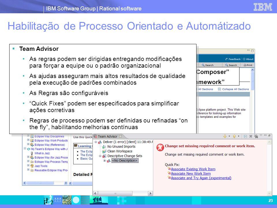 Habilitação de Processo Orientado e Automátizado