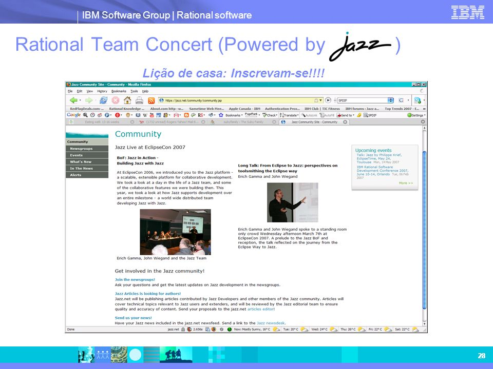 Rational Team Concert (Powered by )