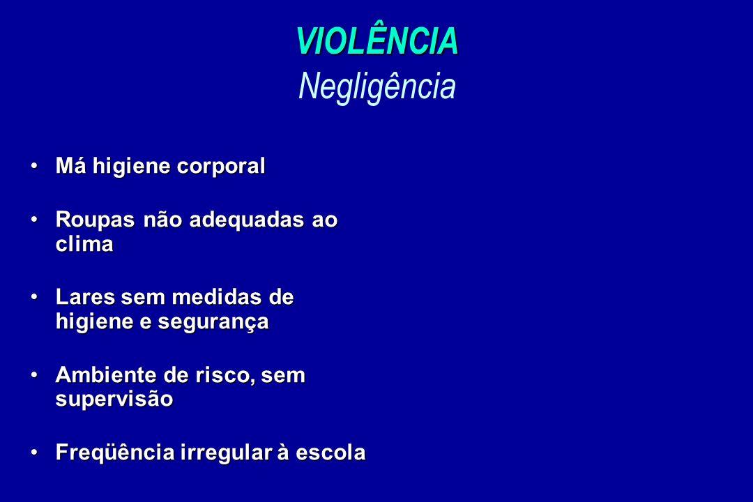 VIOLÊNCIA Negligência