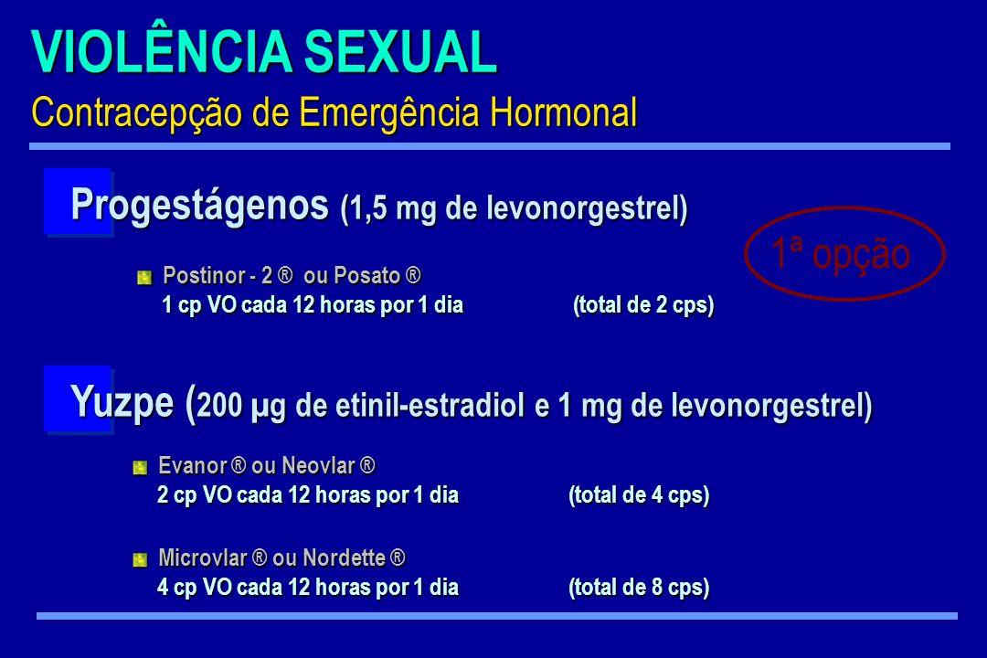 Progestágenos (1,5 mg de levonorgestrel)