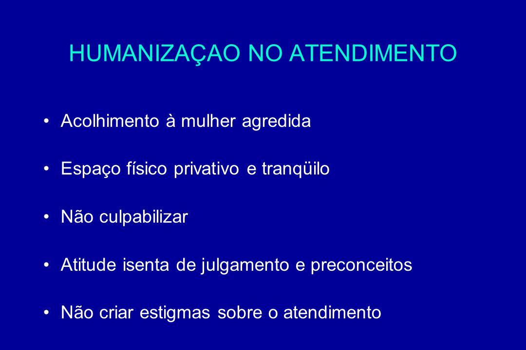 HUMANIZAÇAO NO ATENDIMENTO
